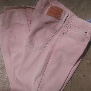 Men's Jeans ( acid washed pink )